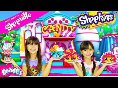 SHOPKINS BEADOS -  Sweet Spree Beados Design Station Playset - DIY Shopkins Beados
