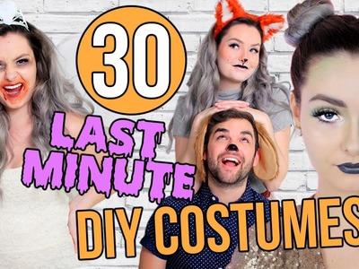 30 Last Minute DIY Halloween Costumes!