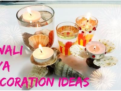 4 DIY- Diwali Diya Decoration Ideas