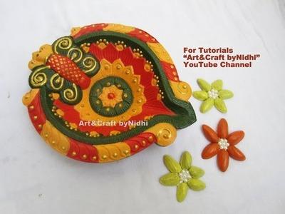 BEST and Beautiful Diya Decoration Painting Tips Tutorial DIY Diwali Home Decoration