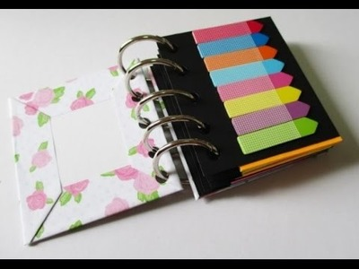 DIY : #152 Mini Sticky Note Book - EASY & CUTE ♥