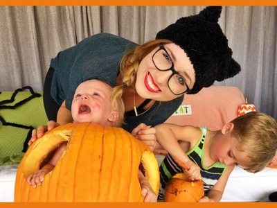 DIY Baby in Pumpkin