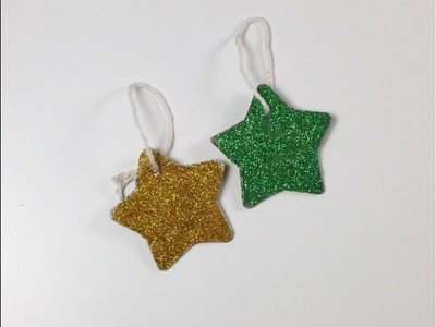 DIY Christmas Stars Decorations. How to Make Christmas Stars Decorations  from Cartons