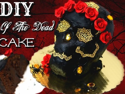 DIY DAY OF THE DEAD CAKE || Janie's Sweets