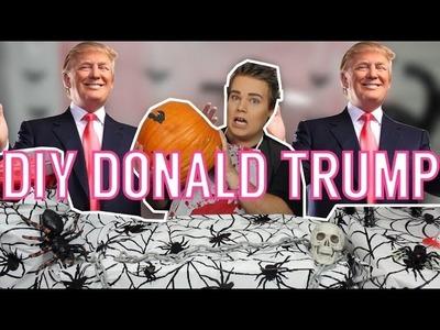 DIY DONALD TRUMP #HALLOWEEN PUMPKIN! #TRUMPKIN
