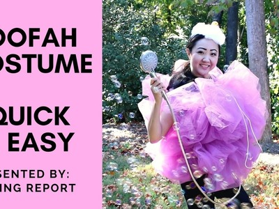 DIY Halloween Costume: Bath Loofah Sponge [Quick & Easy]