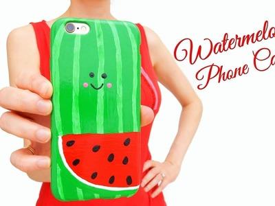 DIY Kawaii Watermelon Phone Case || DIY FRUIT PHONE CASES