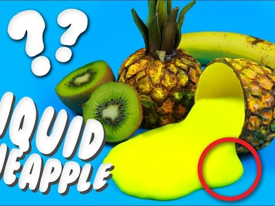 DIY LIQUID PINEAPPLE!?! - Cool Project You Can Do at Home!