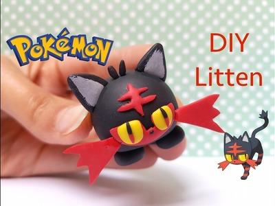 DIY Pokemon Tsum Tsum Litten (Flamiaou) - Polymer clay tutorial