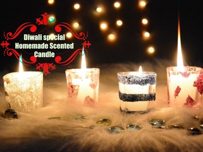 DIY Scented Candle shots | Homemade Diwali candles| Diwali gift ideas | Diwali Series 2016 DAY 1