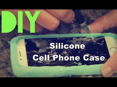 DIY Silicone Cell Phone Case