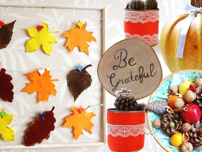 DIY THANKSGIVING Room Decor | Fall Room Decor | Hobium Craft Supplies | DIY With DianaTA