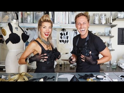G&F Totally 80's Halloween: Madonna Cone Bra DIY with Nicole Maret of The Order