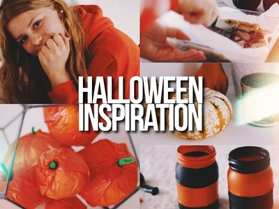 HALLOWEEN INSPIRATION 2016!. DIY's, Treats + Get Into The Spooky Mood!
