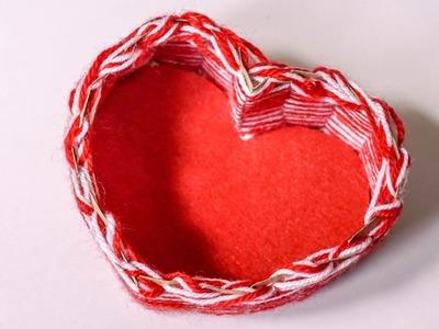 Heart Box | Craft Ideas DIY | HandiWorks #91