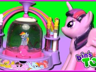 Let's Make My Little Pony Glitter Globes! | Fun Kids Craft Kit | Bin's Toy Bin