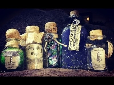 Magic Potion Play-D.I.Y.-DragonScales,Mermaid Tears & Dragonfly Wings
