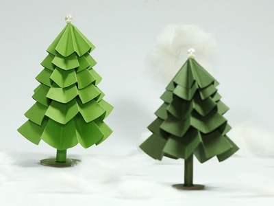 Paper Christmas Tree Craft - DIY Christmas Tree Tutorial