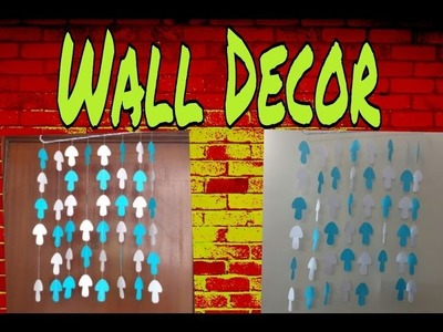 Paper Craft Ideas For Decoration Step By Step || paper art for wall decoration