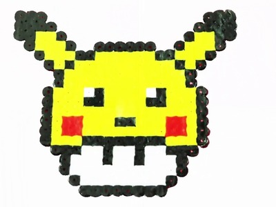 Picachu Pokemon Go y Super Mario Bros DIY hama Beads - DIY Crafts for Kids