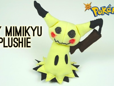 Pokemon DIY: Mimikyu Plushie – How to make your own cute Halloween Pokemon Sun and Moon plush toy