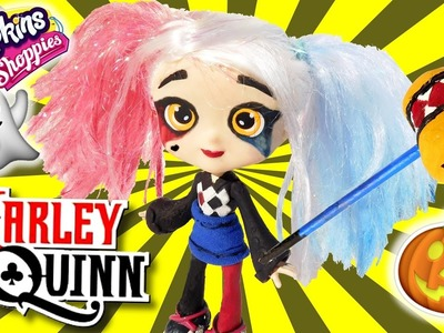 Sara Sushi is HARLEY QUINN! [DIY Shoppie HALLOWEEN Costume]