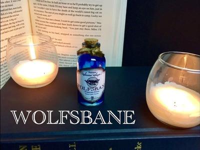 Wolfsbane : DIY Potion Bottle : Halloween Prop ( Harry Potter Inspired )