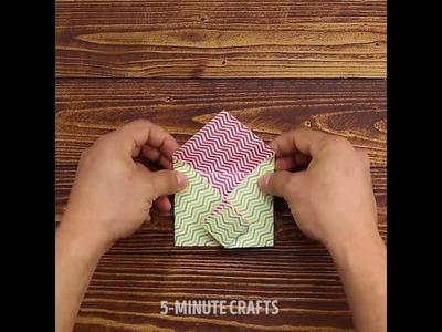 5 Minute Crafts - DIY Gift Envelope