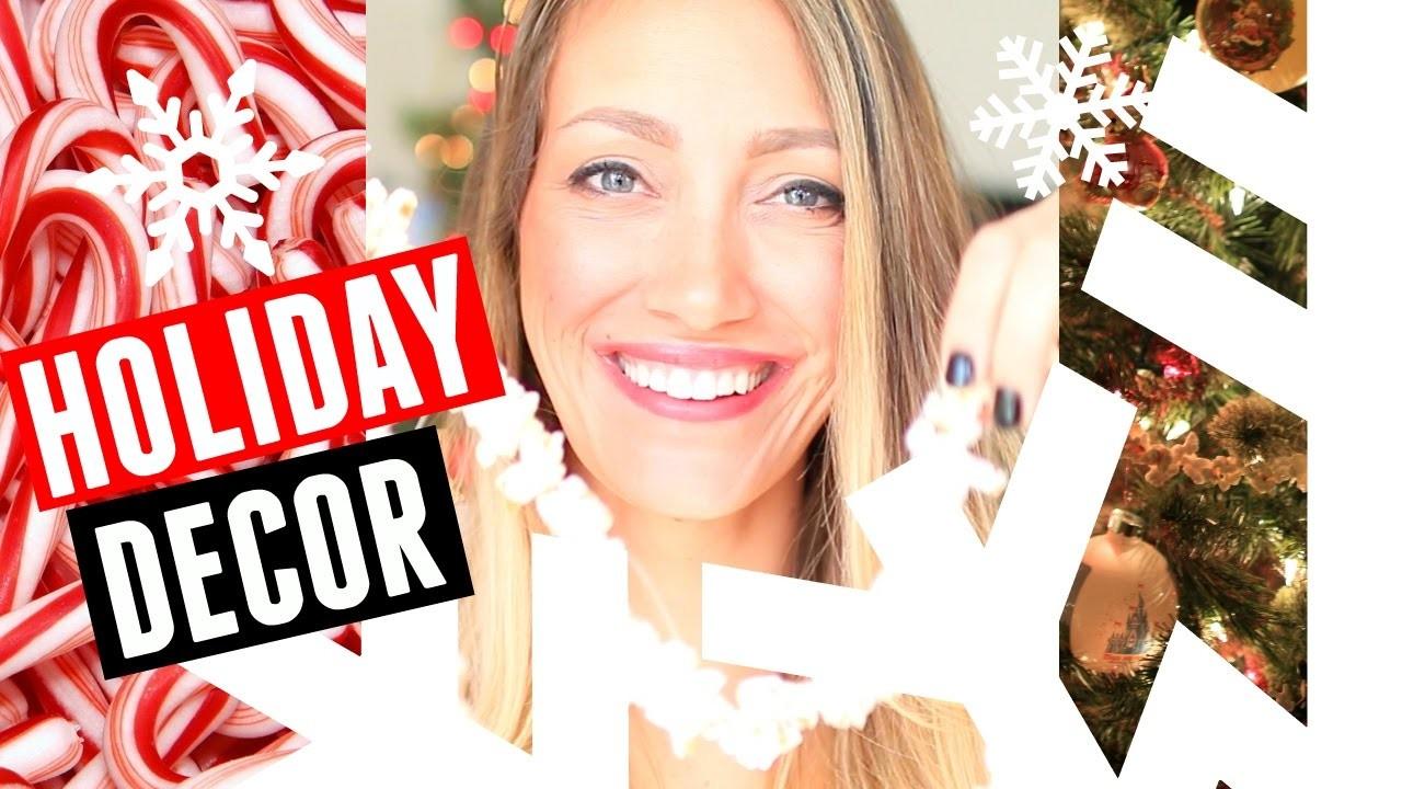 7 CHRISTMAS DECORATIONS IDEAS!!! | DIY HOLIDAY DECOR