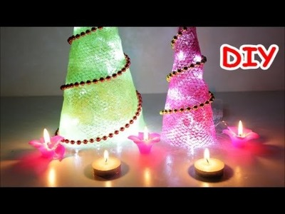 Best out of Waste Diwali.Christmas Home Decorations Ideas: DIY Christmas Tree
