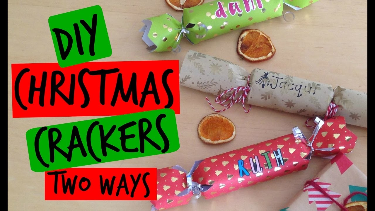 DIY - CHRISTMAS CRACKERS (TWO WAYS) | Life With Satch