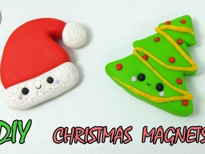 ♡ DIY ♡ Christmas kawaii clay magnets! DIY GIFTS IDEAS