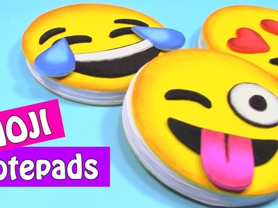 DIY crafts: EMOJI NOTEPADS. Very easy! - Innova Crafts