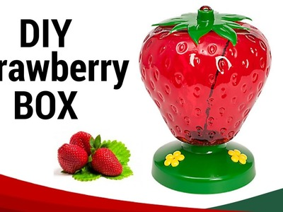 DIY Creative Strawberry Boxes from Plastic Bottle Easy and Useful Homemade Recycled Craft
