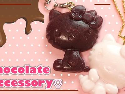 DIY Hello Kitty Chocolate Charms