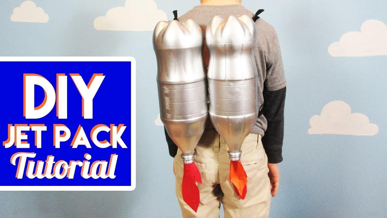 DIY How To Make A Jet Pack Tutorial   KreativeKidsTV