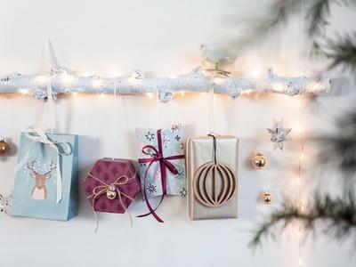 DIY: Make a Christmas gift decoration by Søstrene Grene