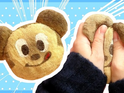 DIY Mickey Mouse Bread Squishy Tutorial | Disney