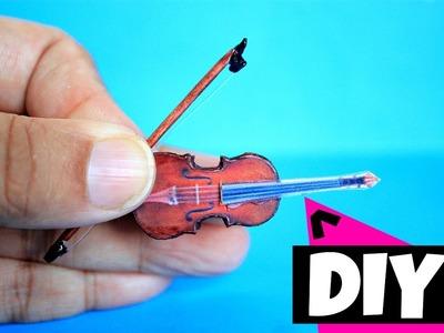 DIY Miniature Violin