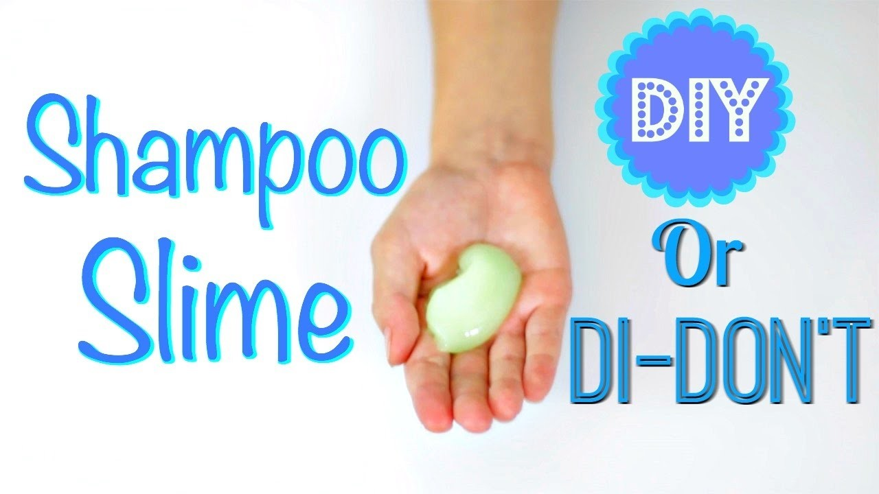DIY OR DI-DON'T - SHAMPOO SLIME!  SLIME TEST - PASS OR FAIL?!