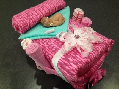 DIY Small Baby Shower Bassinet, Easy & Low Cost Gift!