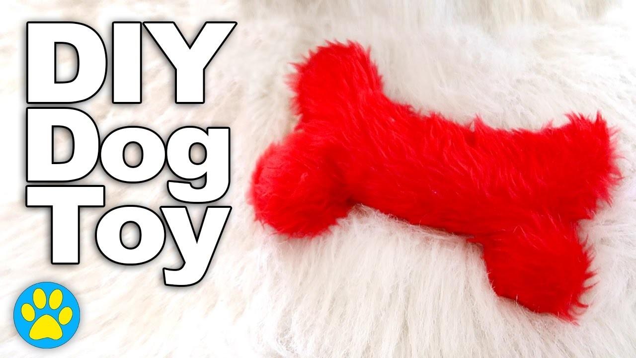DIY Squeaky Bone Dog Toy