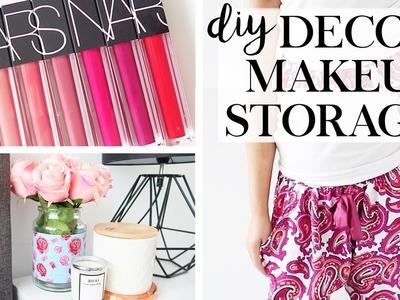 DIY Upcycling Decor, Makeup & Storage - October Favourites
