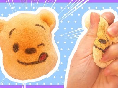 DIY Winnie the Pooh Bread Squishy Tutorial