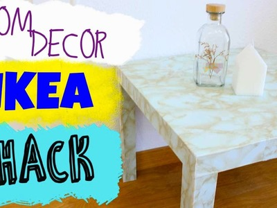 Easy Room Decor | Ikea Hack | Table DIY