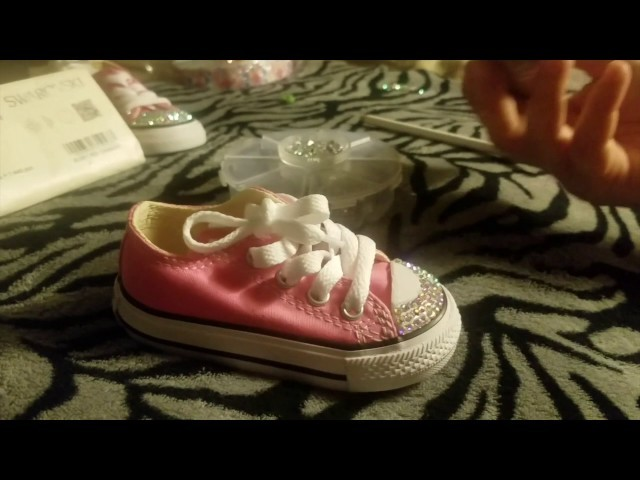 4e6ee41a265e How to Bling Converse Shoes