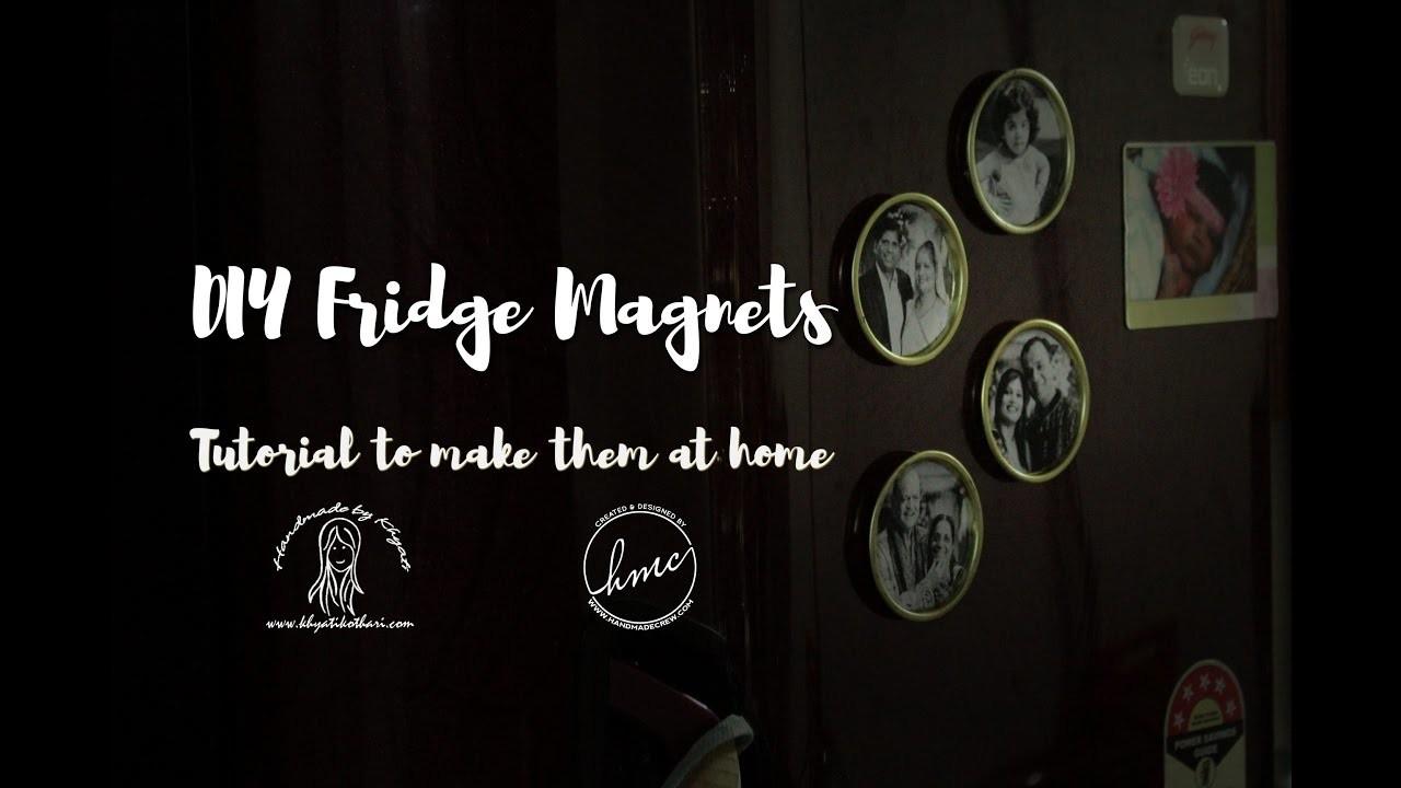 How to create custom fridge magnets [DIY Fridge Magnet Tutorial]