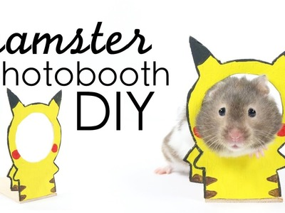 How to DIY Hamster Wooden Photobooth Tutorial