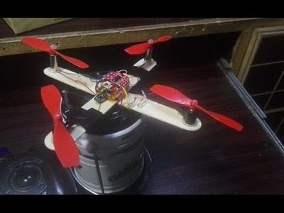 How To Mak DIY Wireless RC Remote Controller Quadcopter