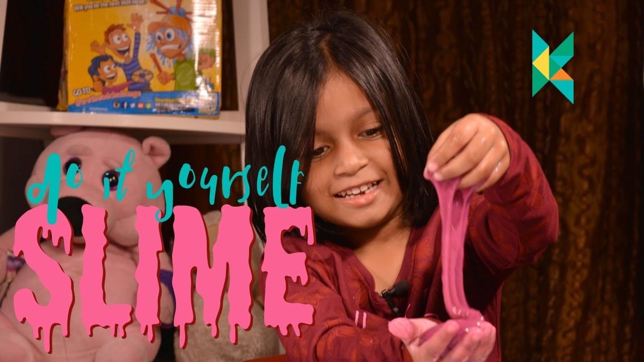 How to Make Slime at Home : DIY Slime at Home with Glue Borax and Water : SLIME RECIPE